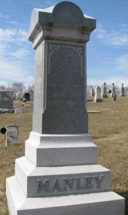 MANLEY, PATRICK J. - Dixon County, Nebraska   PATRICK J. MANLEY - Nebraska Gravestone Photos