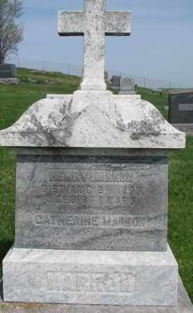 MARRON, HENRY - Dixon County, Nebraska | HENRY MARRON - Nebraska Gravestone Photos