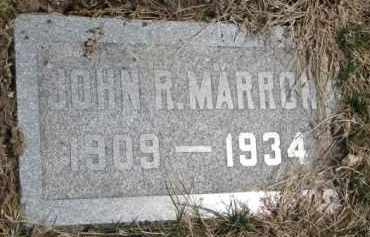 MARRON, JOHN R. - Dixon County, Nebraska | JOHN R. MARRON - Nebraska Gravestone Photos
