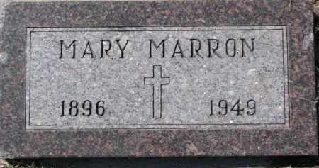 MARRON, MARY - Dixon County, Nebraska   MARY MARRON - Nebraska Gravestone Photos