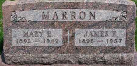 MARRON, MARY E. - Dixon County, Nebraska | MARY E. MARRON - Nebraska Gravestone Photos