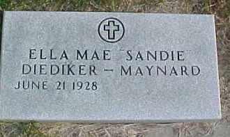 MAYNARD, ELLA MAE - Dixon County, Nebraska | ELLA MAE MAYNARD - Nebraska Gravestone Photos