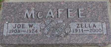 MCAFEE, ZELLA - Dixon County, Nebraska | ZELLA MCAFEE - Nebraska Gravestone Photos