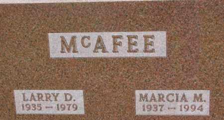 MCAFEE, MARCIA M. - Dixon County, Nebraska | MARCIA M. MCAFEE - Nebraska Gravestone Photos