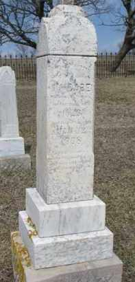 MCCABE, MRS. JAMES - Dixon County, Nebraska | MRS. JAMES MCCABE - Nebraska Gravestone Photos