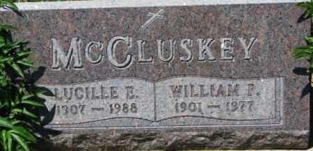 MCCLUSKEY, LUCILLE E. - Dixon County, Nebraska | LUCILLE E. MCCLUSKEY - Nebraska Gravestone Photos