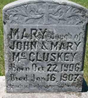 MCCLUSKEY, MARY - Dixon County, Nebraska | MARY MCCLUSKEY - Nebraska Gravestone Photos