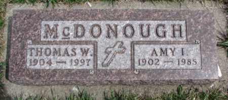 MCDONOUGH, THOMAS W. - Dixon County, Nebraska | THOMAS W. MCDONOUGH - Nebraska Gravestone Photos