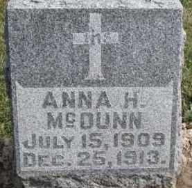 MCDUNN, ANNA H. - Dixon County, Nebraska | ANNA H. MCDUNN - Nebraska Gravestone Photos