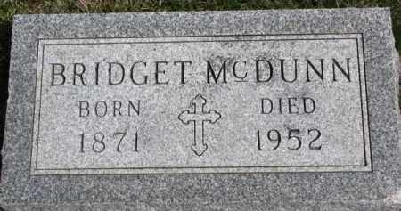 MCDUNN, BRIDGET - Dixon County, Nebraska | BRIDGET MCDUNN - Nebraska Gravestone Photos
