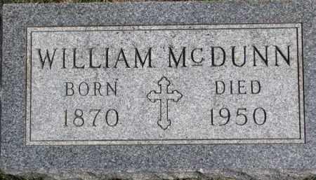 MCDUNN, WILLIAM - Dixon County, Nebraska | WILLIAM MCDUNN - Nebraska Gravestone Photos