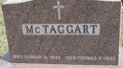 MCTAGGART, HANNAH M. - Dixon County, Nebraska   HANNAH M. MCTAGGART - Nebraska Gravestone Photos