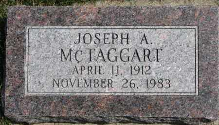 MCTAGGART, JOSEPH A. - Dixon County, Nebraska | JOSEPH A. MCTAGGART - Nebraska Gravestone Photos