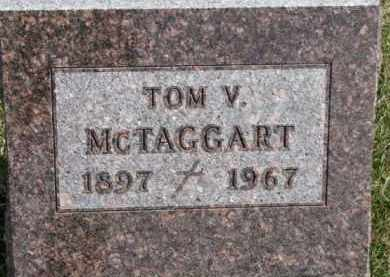 MCTAGGART, TOM V. - Dixon County, Nebraska   TOM V. MCTAGGART - Nebraska Gravestone Photos