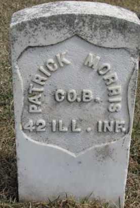 MORRIS, PATRICK - Dixon County, Nebraska | PATRICK MORRIS - Nebraska Gravestone Photos