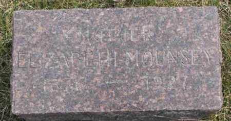 MOUNSEY, ELIZABETH - Dixon County, Nebraska   ELIZABETH MOUNSEY - Nebraska Gravestone Photos