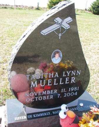 MUELLER, TABITHA LYNN - Dixon County, Nebraska | TABITHA LYNN MUELLER - Nebraska Gravestone Photos