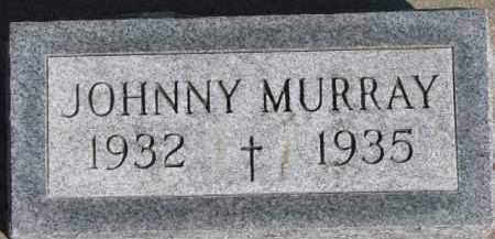 MURRAY, JOHNNY - Dixon County, Nebraska | JOHNNY MURRAY - Nebraska Gravestone Photos