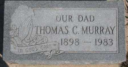MURRAY, THOMAS C. - Dixon County, Nebraska   THOMAS C. MURRAY - Nebraska Gravestone Photos