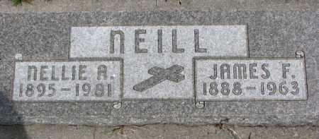 NEILL, JAMES F. - Dixon County, Nebraska   JAMES F. NEILL - Nebraska Gravestone Photos