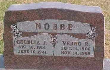 NOBBE, VERNO R. - Dixon County, Nebraska | VERNO R. NOBBE - Nebraska Gravestone Photos