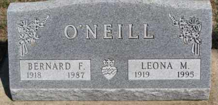 O'NEIL, BERNARD F. - Dixon County, Nebraska | BERNARD F. O'NEIL - Nebraska Gravestone Photos