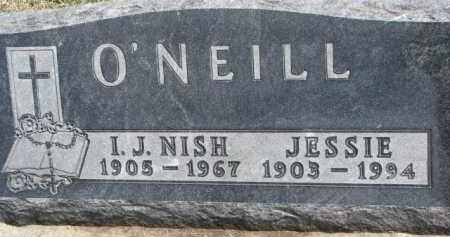 O'NEILL, JESSIE - Dixon County, Nebraska | JESSIE O'NEILL - Nebraska Gravestone Photos