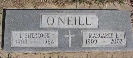 O'NEILL, MARGARET L. - Dixon County, Nebraska | MARGARET L. O'NEILL - Nebraska Gravestone Photos