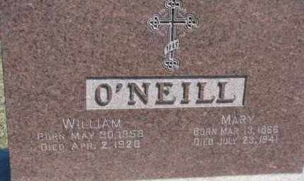 O'NEILL, WILLIAM - Dixon County, Nebraska | WILLIAM O'NEILL - Nebraska Gravestone Photos