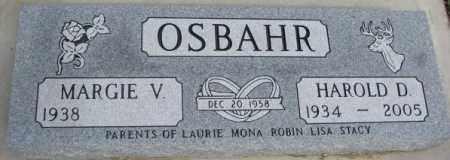 OSBAHR, MARGIE V. - Dixon County, Nebraska | MARGIE V. OSBAHR - Nebraska Gravestone Photos