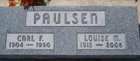 PAULSEN, CARL F. - Dixon County, Nebraska | CARL F. PAULSEN - Nebraska Gravestone Photos