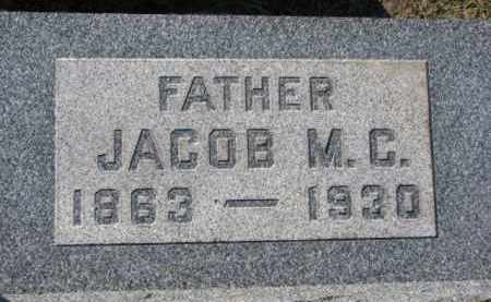 PAULSEN, JACOB M.C. - Dixon County, Nebraska | JACOB M.C. PAULSEN - Nebraska Gravestone Photos