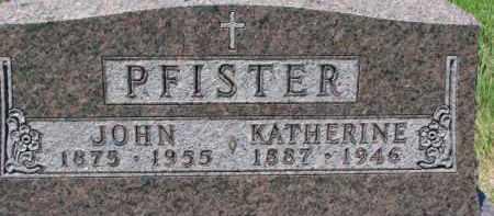 PFISTER, KATHERINE - Dixon County, Nebraska | KATHERINE PFISTER - Nebraska Gravestone Photos