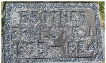 PIERCE, ERNEST E.J. - Dixon County, Nebraska   ERNEST E.J. PIERCE - Nebraska Gravestone Photos