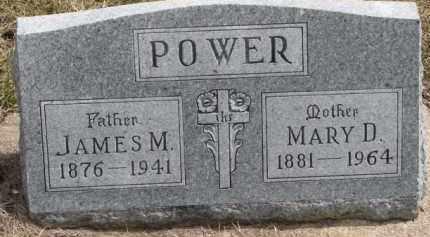 POWER, JAMES M. - Dixon County, Nebraska | JAMES M. POWER - Nebraska Gravestone Photos