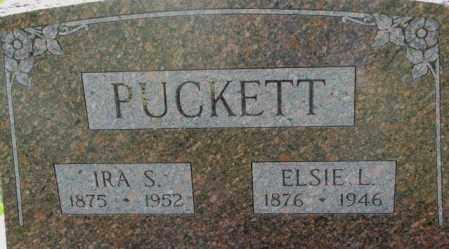PUCKETT, IRA S. - Dixon County, Nebraska | IRA S. PUCKETT - Nebraska Gravestone Photos