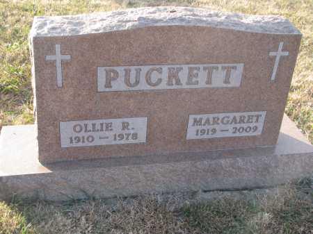 PUCKETT, MARGARET IONA - Dixon County, Nebraska | MARGARET IONA PUCKETT - Nebraska Gravestone Photos