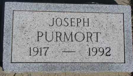 PURMORT, JOSEPH - Dixon County, Nebraska | JOSEPH PURMORT - Nebraska Gravestone Photos