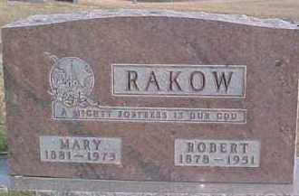RAKOW, ROBERT - Dixon County, Nebraska | ROBERT RAKOW - Nebraska Gravestone Photos