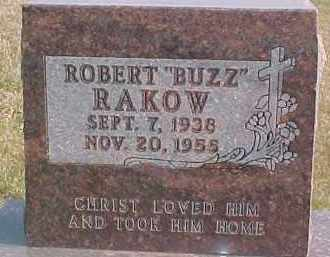 "RAKOW, ROBERT ""BUZZ"" - Dixon County, Nebraska | ROBERT ""BUZZ"" RAKOW - Nebraska Gravestone Photos"