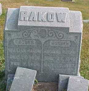 RAKOW, JOHANNA - Dixon County, Nebraska | JOHANNA RAKOW - Nebraska Gravestone Photos