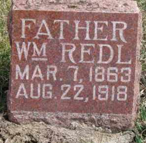 REDL, WILLIAM - Dixon County, Nebraska | WILLIAM REDL - Nebraska Gravestone Photos