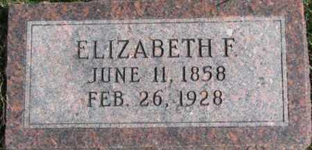 REID, ELIZABETH - Dixon County, Nebraska | ELIZABETH REID - Nebraska Gravestone Photos