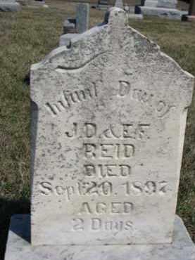 REID, INFANT - Dixon County, Nebraska | INFANT REID - Nebraska Gravestone Photos