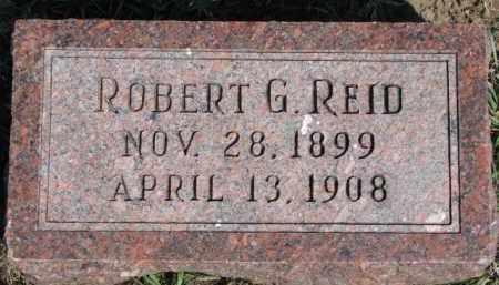 REID, ROBERT G. - Dixon County, Nebraska | ROBERT G. REID - Nebraska Gravestone Photos