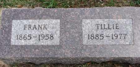 REJMAN, FRANK - Dixon County, Nebraska | FRANK REJMAN - Nebraska Gravestone Photos