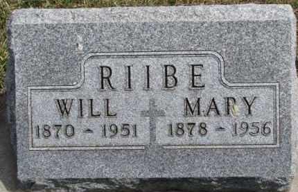 RIIBE, MARY MAMIE - Dixon County, Nebraska | MARY MAMIE RIIBE - Nebraska Gravestone Photos