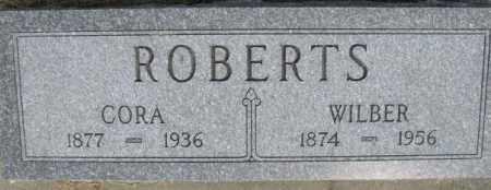 DUTTON ROBERTS, CORA BELLE - Dixon County, Nebraska | CORA BELLE DUTTON ROBERTS - Nebraska Gravestone Photos