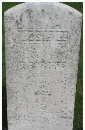 ROBERTS, JOSIE J. (JOHANNA JOSEPHINE) - Dixon County, Nebraska | JOSIE J. (JOHANNA JOSEPHINE) ROBERTS - Nebraska Gravestone Photos