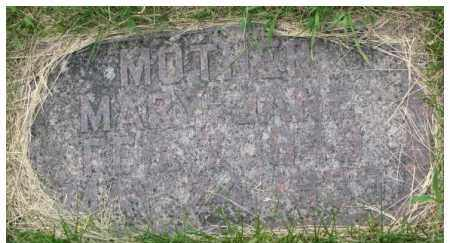 WILLIAMS ROBERTS, MARY JANE - Dixon County, Nebraska | MARY JANE WILLIAMS ROBERTS - Nebraska Gravestone Photos